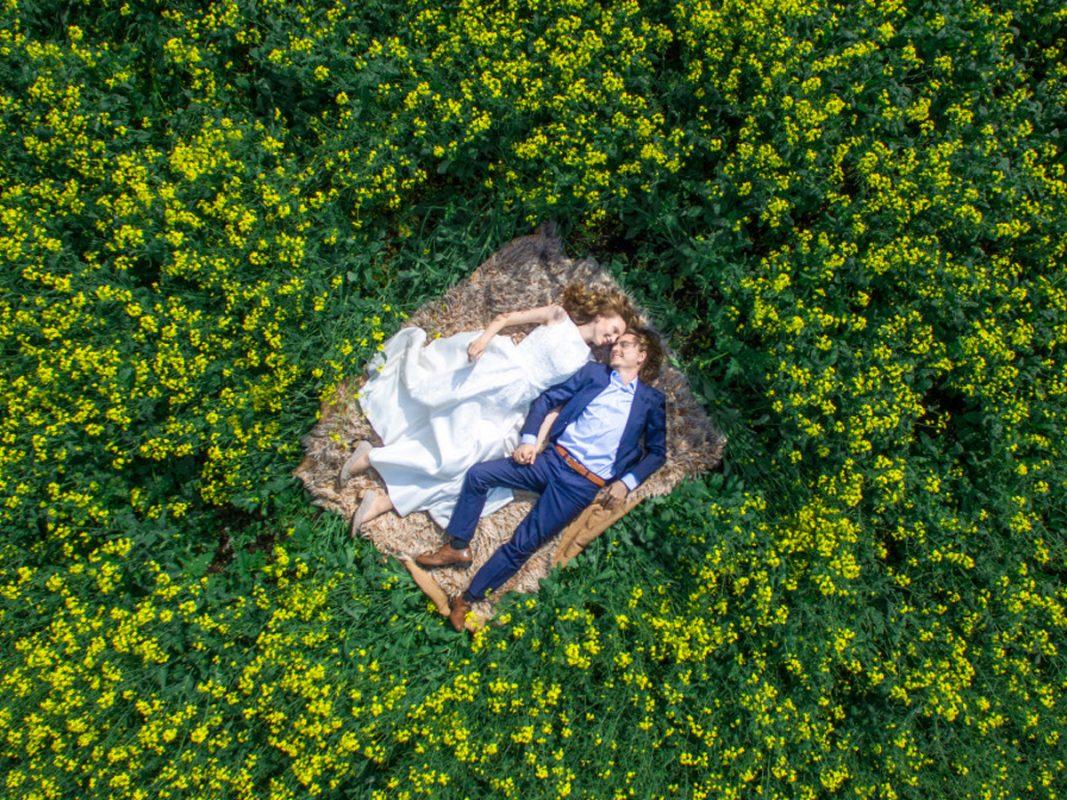 Jasa Foto Wedding Unik Menggunakan Drone