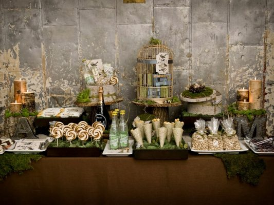 Rustic Bridal Shower
